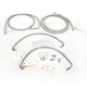 Stainless Steel Brake Line Kit For Use With Mini Ape Hangers - LA-8051B08