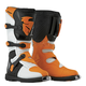White/Orange Blitz CE Boots