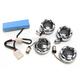 Chrome Bullet Ringz LED Turn Signal Kit - BTR-KIT-XL1C