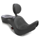 Flame Stitch Low-Profile Double-Bucket Seat w/Dual Backrest - 0810-1721