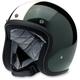 Gloss Green/Creme Racer Bonanza Helmet