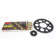 Gold Suzuki GB520XSO Quick Acceleration Chain with Steel Sprocket - 3068-999PG