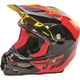 Yellow/Black/Red F2 Carbon Pure Helmet