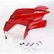 Standard ATV Red Front Fender - 117202
