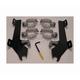 Batwing Black Trigger Lock Hardware - MEM8996