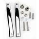 Chrome 41mm Mounting Kit for Spartan/SwitchBlade Windshields - KIT-Q341