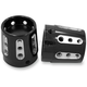 Black Gatlin Front Axle Nut Covers - AXL-GAT-ANO