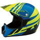 Youth Gloss Blue/Yellow Roost SE Helmet