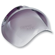 Smoke Gradient 3-Snap Bubble Shield - BV-SMK-00-GR