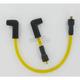 Custom Suppression 8.8mm Yellow Spark Plug Wire Set - 172071