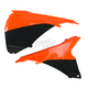 Black/KTM Orange Airbox Covers - 2314291008