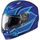 Blue FG-17 Banshee MC-2 Helmet