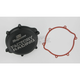 Factory Racing Black Clutch Cover - CC-21AB