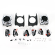 4 ohm Saddlebag Lid Speaker Pods - 868