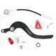 Brake Pedal w/Red Tip - 1610-0335