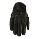 Womens Black 270 Perforated Leather Gloves