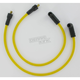 Custom Stainless/Copper 8.8mm Yellow Spark Plug Wire Set - 172075