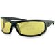 AXL Sunglasses w/Yellow Lens - EAXL001Y