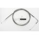 Alternative Length Stainless Steel Throttle Cable for Custom Height/Width Handlebars - 0650-1081