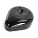Powder-Coat Wrinkle Black Teardrop Air Cleaner - 170-0181A