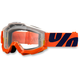 Orange/Blue Accuri Sleet Goggle w/Clear Lens - 50200-096-02