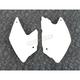 Kawasaki White Side Panels - KA03790-047