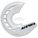 White X-Brake Front Disc Cover - 2250240002
