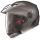 Metallic Lava Gray N40 Full N-Com Helmet