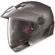 Metallic Lava Gray N40 Full N-Com Helmet