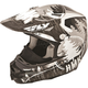 Black HMK Stamp F2 Carbon Helmet