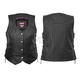 Women's Black Scarlett Vest