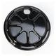 Decadent Black Powdercoat Fusion Fuel Door - LA-F310-01B