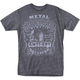 Mens Charcoal Mock T-Shirt