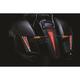 Satin Black LED Laydown Curved License Plate Frame - 7678