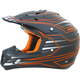 Safety Orange FX-17 Mainline Helmet