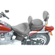 17 1/2 in. Wide Studded Solo Seat w/Removable Backrest - 79104