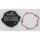 Factory Racing Black Clutch Cover - CC-46B