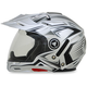 Silver Multi FX-55 7-in-1 Helmet