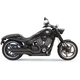 Chrome Pro-Street Slash-Cut Exhaust System - 6H23BB
