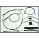 Black Pearl Designer Series Handlebar Installation Kit for Use w/18 in. - 20 in. Ape Hangers - 487383