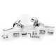 Chrome Handlebar Control Kit For Models W/O ABS Brakes - 0610-0801