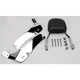 Complete Backrest/Mount Kit with Small Steel Backrest - 34-2109-01