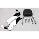 Complete Backrest/Mount Kit with Small Steel Backrest - 34-2109-01