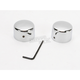 Rear Chrome Axle Caps - DS-222885