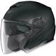 Flat Black N40 Jet N-Com Helmet