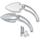 Chrome Spade Mirrors - 0640-0574