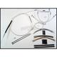 Custom Sterling Chromite II Designer Series Handlebar Installation Kit for Use w/15 in. - 17 in. Ape Hangers (Non-ABS) - 387302
