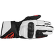 Womens Black/White/Red Stella SP-8 Gloves