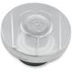 Chrome Scallop Custom Gas Cap - 02102024SCACH