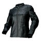 Womens Black 243 Leather Jacket